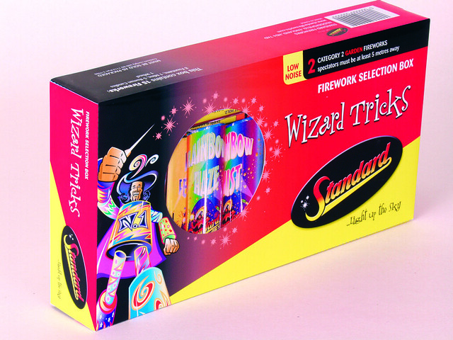 Wizard Tricks Selection Box by Standard Fireworks ...