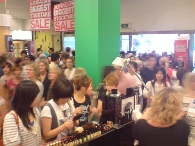 Crowds - Boxing Day Sales - Myer Melbourne | Flickr ...