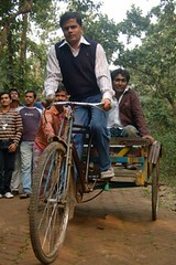 rickshaw, vehicle,