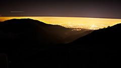 Milpitas + Hills at Night