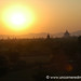 Sunset Layers over Temple - Bagan, Burma
