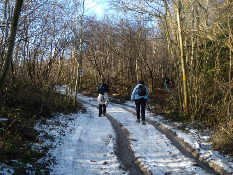 Ice Road Hikers Snodland to Sole Street