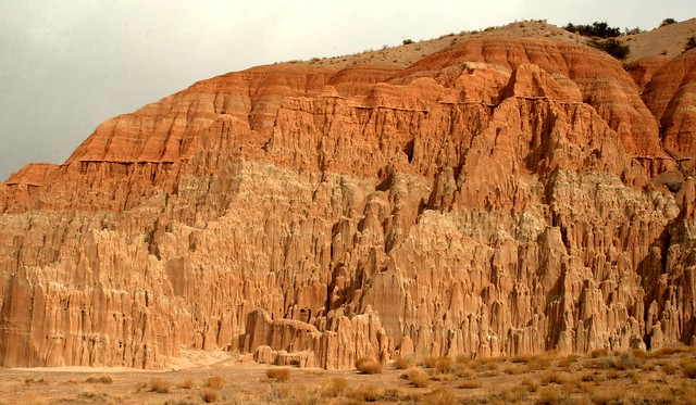Cool landscape in Cathedral Gorge State Park, Nevada ...