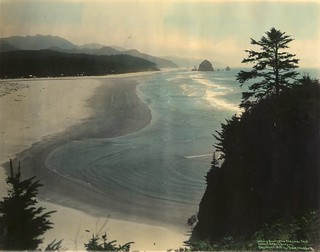 Looking south from Chapman Point, Cannon Beach, Oregon