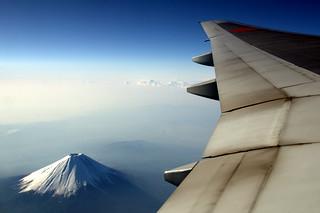 Mt.Fuji & 777-200
