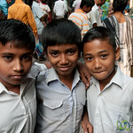 School Kids at Shakhari Bazar - Dhaka, Bangladesh