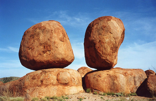 Uprostřed Northern Territory: z Tennant Creek k Devils Marbles