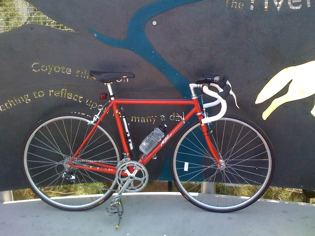 Specialized Allez at Lincoln Heights/Cypress Park Metro Station
