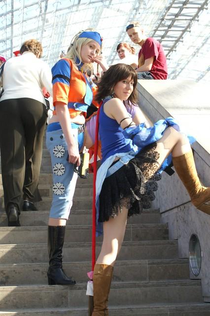 yuna cosplay fantasy Final nude