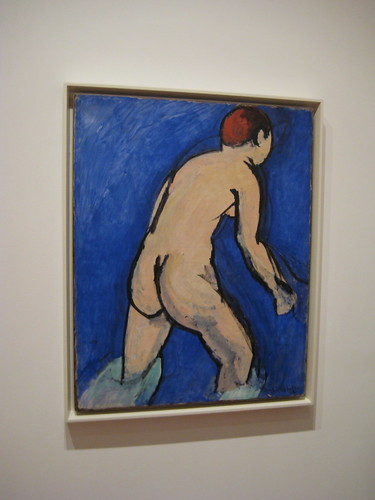 NYC - MoMA: Henri Matisse's Bather by wallyg
