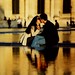 France - Paris - Louvre - Kissing Couple