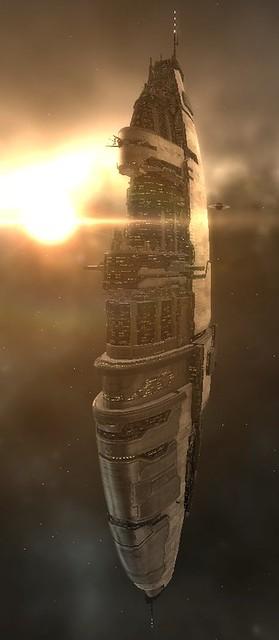 Amarr Space Station or Homeworld Mothership? (used ...