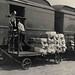 Loading Mail onto Railway Post Office Car