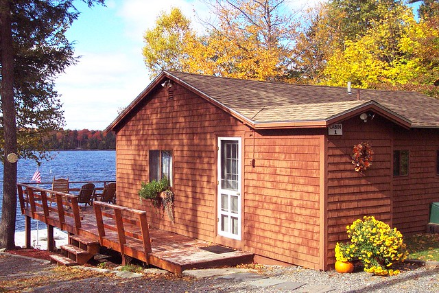 Maine Fall Lakefront Rental Flickr Photo Sharing