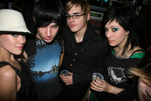 Mikey Way And Alicia Simmons Tattoos Alicia Simmons, Mikey ...