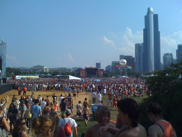 Lollapalooza 2008 Chicago