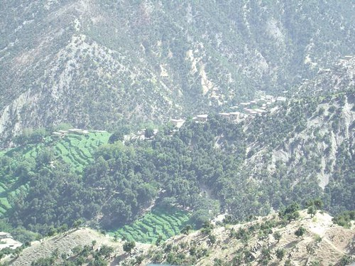 Op Restrepo Map Korengal Valley, Afgha...