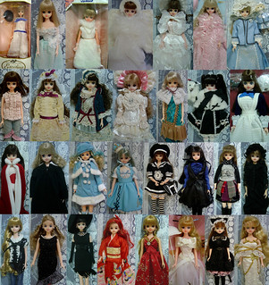 Some of my Excelina & limited edition Jenny dolls