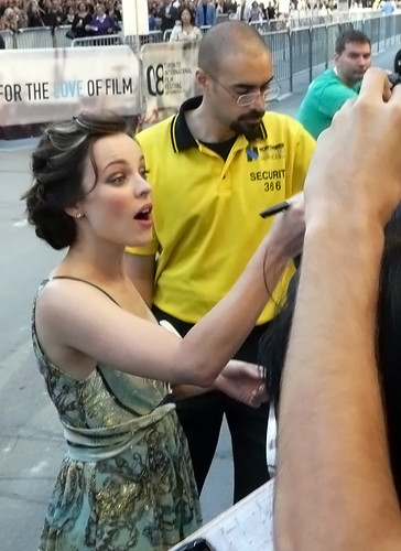 """Actress Rachel McAdams arrives at """"The Lucky Ones"""" premiere during the 2008 Toronto International Film Festival held at the Roy Thomson Hall on September 10, 2008 in Toronto, Canada"""