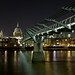St. Pauls Millenium Bridge, London by Souvik_Prometure