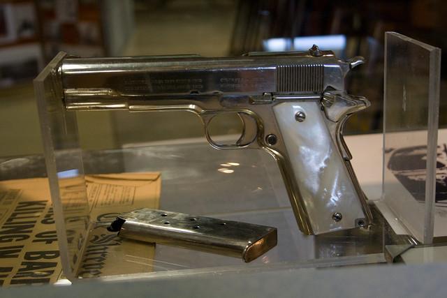 Bonnie And Clyde >> Texas Prison Museum, Bonnie & Clyde Pistol | Flickr ...