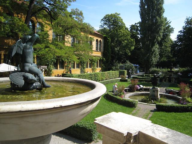 Lenbachhaus Museum Garden