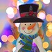 Snowman Bokeh  © Glenn E Waters   (Explored). Over 18,000 visits to this photo.