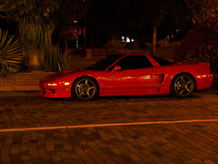 convertible(0.0), automobile(1.0), automotive exterior(1.0), wheel(1.0), vehicle(1.0), performance car(1.0), automotive design(1.0), honda nsx(1.0), bumper(1.0), land vehicle(1.0), supercar(1.0), sports car(1.0),