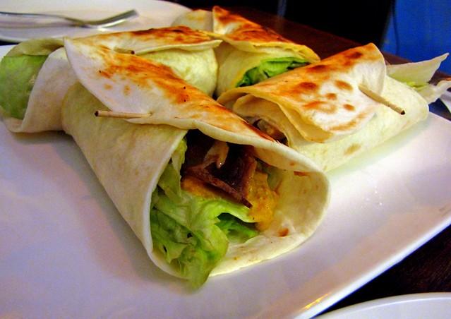 Gyros comida grega nos EUA