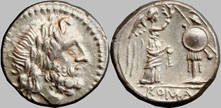 67/1 #9708-32 Anonymous Sicily Jupiter Victory trophy Victoriatus