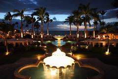Four Seasons Maui at sunset