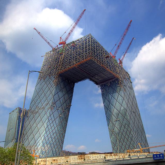 Cranes In The Sky.
