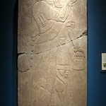 NYC: Brooklyn Museum - Reliefs of King Ashur-nasir-pal II - Winged Genie Holding a Sacred Pail