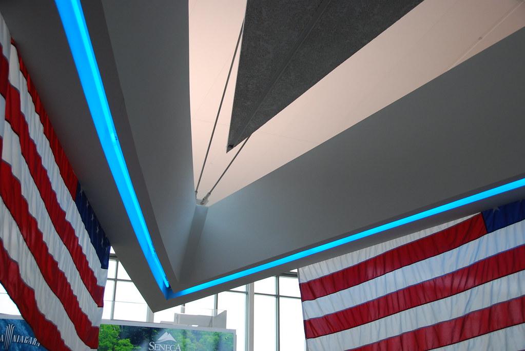striking indoor canopy...