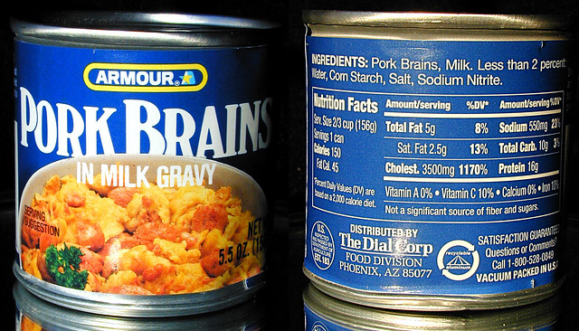 Pork Brains In Milk Gravy | Flickr - Photo Sharing!