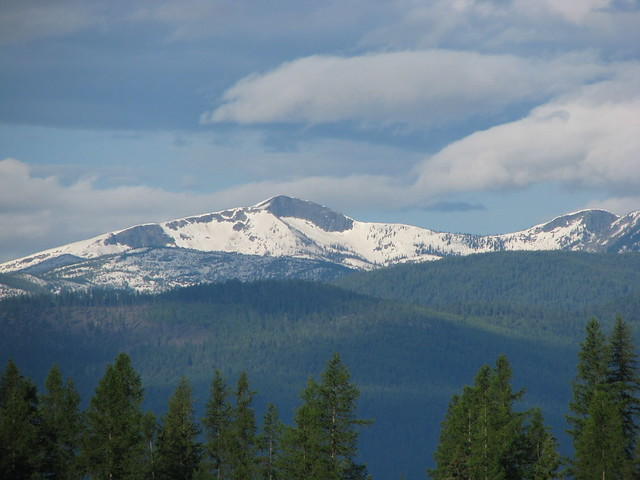 Selkirk Mountains W Of Bonners Ferry ID  Flickr  Photo
