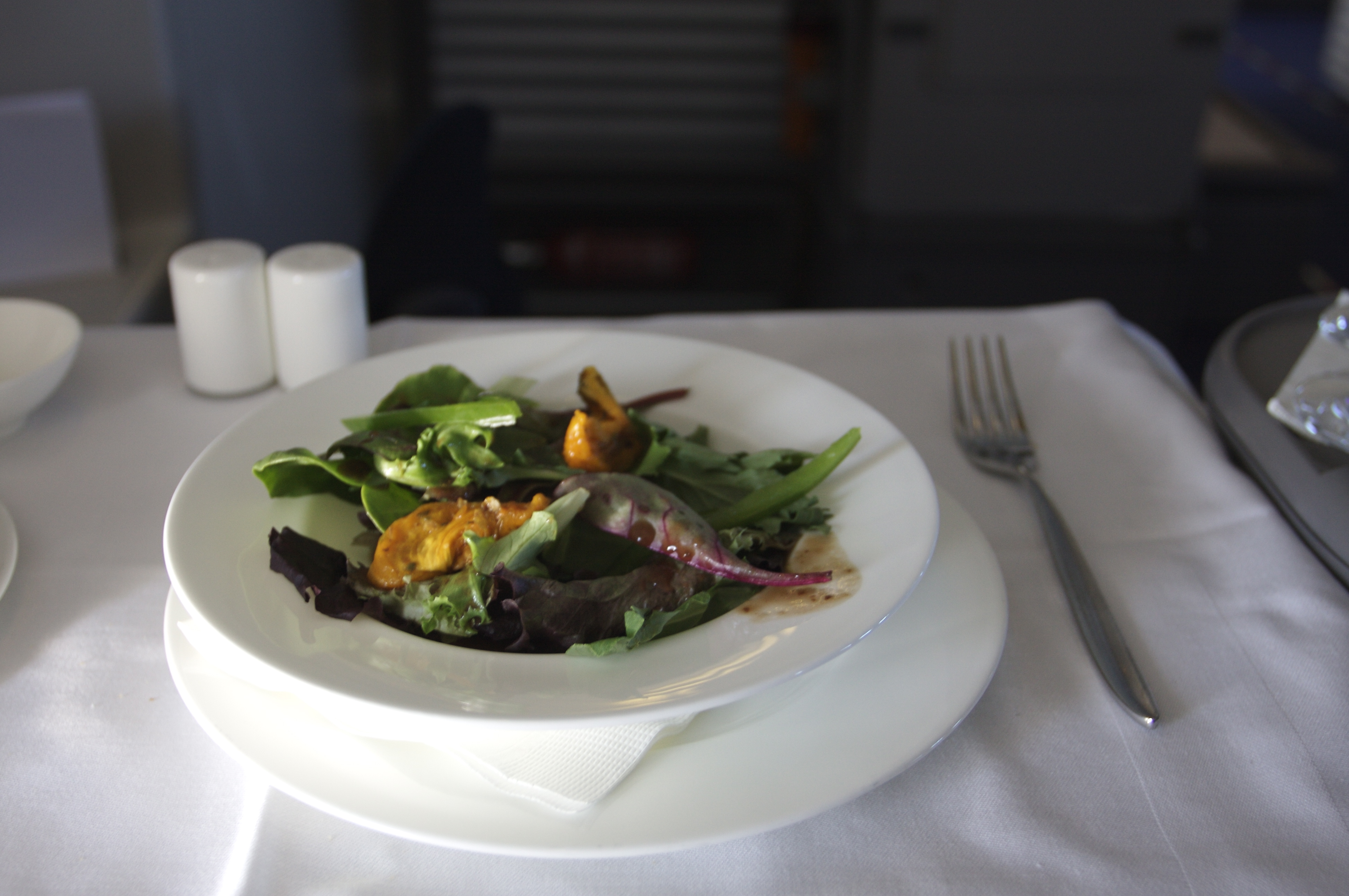 Lufthansa First Class - Meal | Flickr - Photo Sharing!