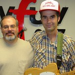 Jim White at WFUV with Darren DeVivo