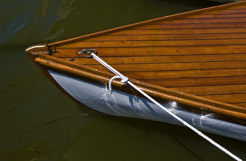 wood cat boat by Alida's Photos