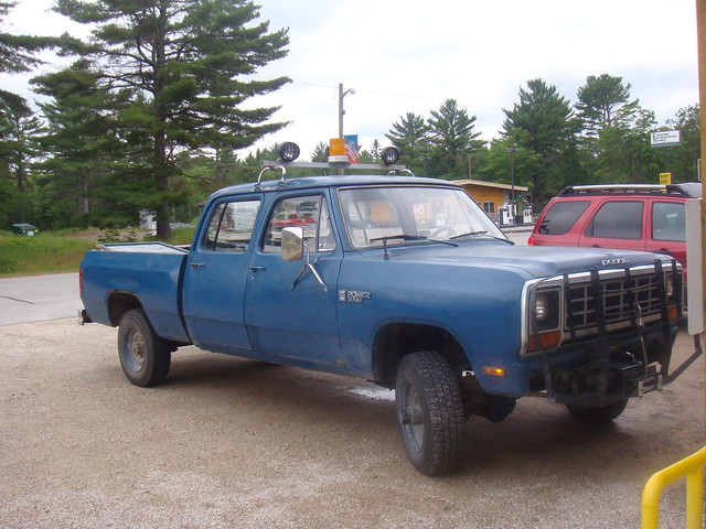 1985 Dodge Crew Cab Craigs List http://www.flickr.com/photos/22340377@N03/2710456663/