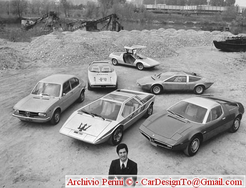 GG+ cars of the early 70ies