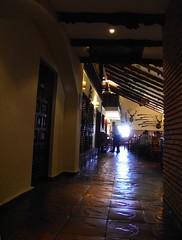 Entrada al Comedor del  Hotel NH La Perdiz