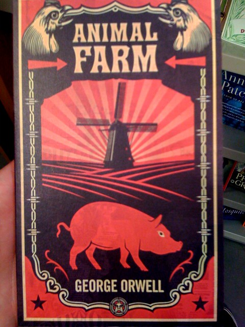 About >> Awesome Canadian cover of Animal Farm | By Shepard Fairey ...