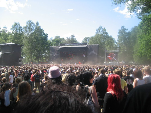 Flogging Molly - Hultsfred festival 2007