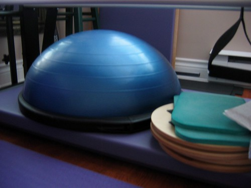 BOSU, Rotational Discs and Foam Pads