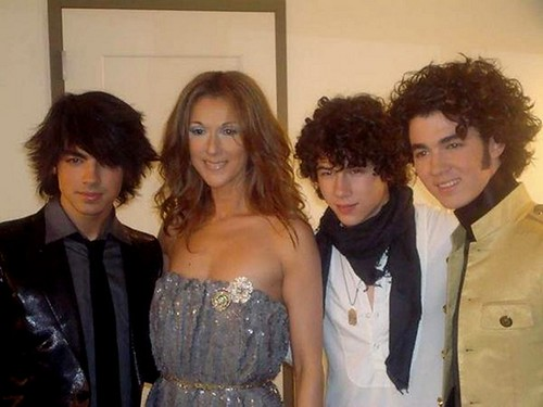 celine dion and the jonas brothers
