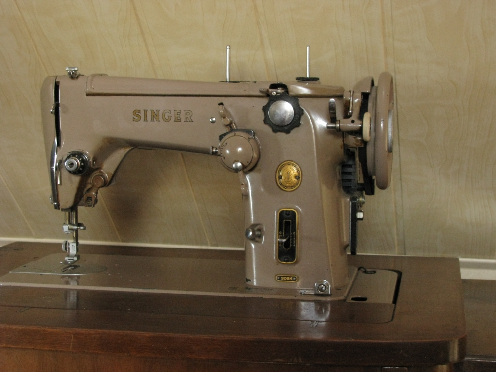 Vintage Singer 306k Sewing Machine This Beautiful
