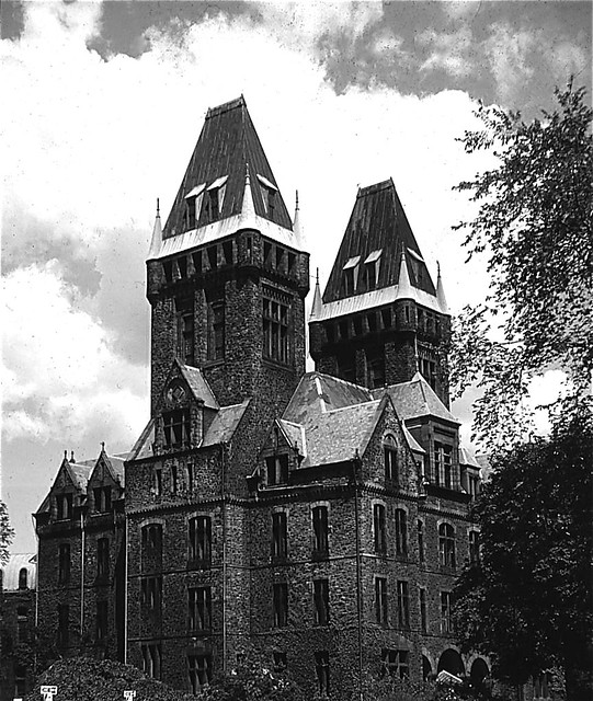 H h richardson architect buffalo state hospital a for Richardson architect