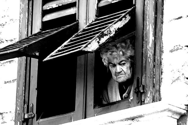Vecchia Alla Finestra Old Lady At The Window Flickr
