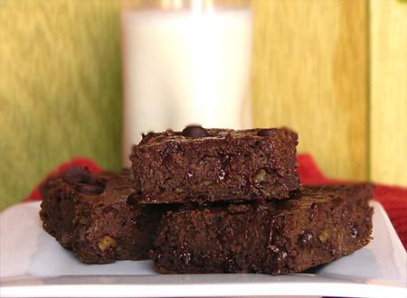 Happy Herbivore's Fudgy Brownies